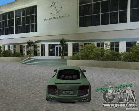 Audi R8 4.2 Fsi para GTA Vice City left