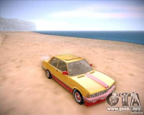 BMW E21 para GTA San Andreas vista hacia atrás
