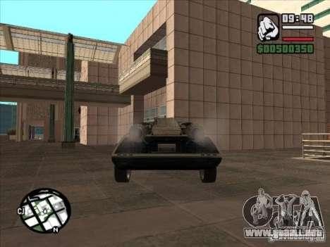 Coches de Flatout 2 para GTA San Andreas vista hacia atrás
