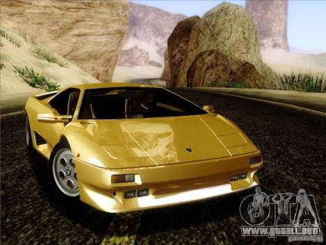 Lamborghini Diablo VT 1995 V3.0 para GTA San Andreas left