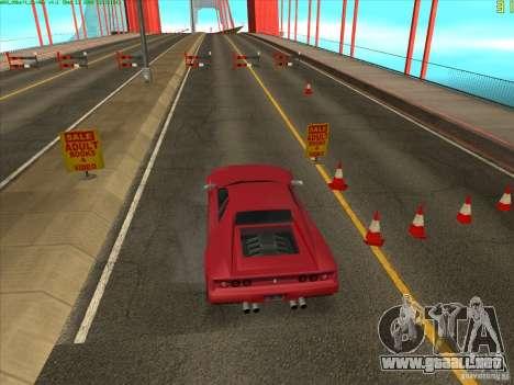 Takomskij Bridge (puente de Tacoma Narrows) para GTA San Andreas sucesivamente de pantalla