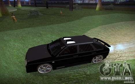 VAZ 2109 carbono para visión interna GTA San Andreas