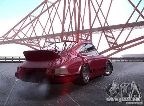 Porsche Carrera RS para GTA San Andreas left