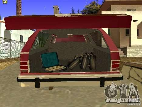 Mercury Grand Marquis Colony Park para GTA San Andreas vista hacia atrás