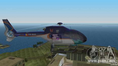 Eurocopter Ec-120 Colibri para GTA Vice City vista lateral izquierdo