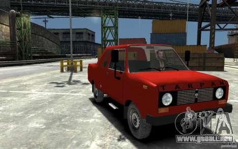 FSR Tarpan 237D para GTA 4 vista hacia atrás