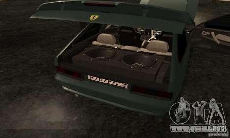 Ferrari 2113 VAZ para la vista superior GTA San Andreas