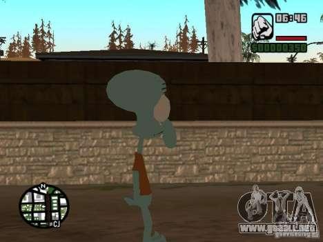 Calamardo para GTA San Andreas tercera pantalla