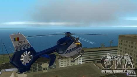 Eurocopter Ec-135 Politia Romana para GTA Vice City vista interior