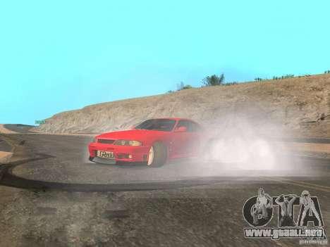 Nuevas texturas agua y humo para GTA San Andreas sexta pantalla