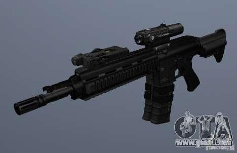 Rifle HK416 para GTA San Andreas tercera pantalla