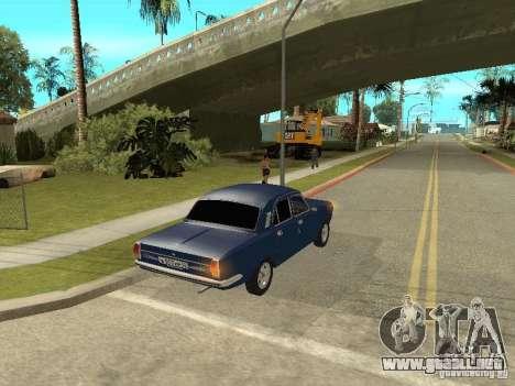 GAZ 24-10 para la visión correcta GTA San Andreas