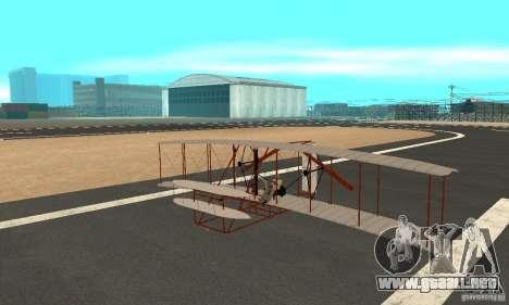 The Wright Flyer para GTA San Andreas