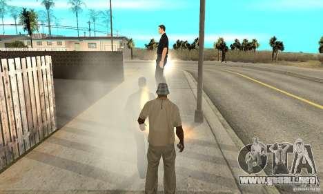 SuperClon (clonación personas en SAN ANDREAS) para GTA San Andreas sexta pantalla