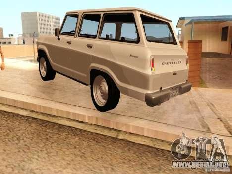 Chevrolet Veraneio de Luxo 1973 para la visión correcta GTA San Andreas