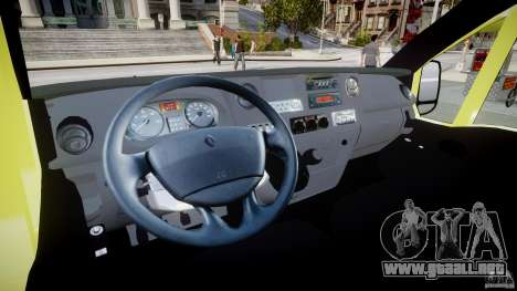 Renault Master 2007 Ambulance Scottish [ELS] para GTA 4 vista superior