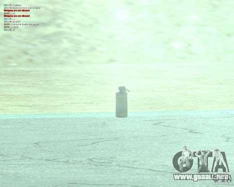 [Point Blank] WP Smoke para GTA San Andreas segunda pantalla