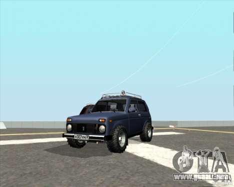 VAZ 21213 Offroad para GTA San Andreas