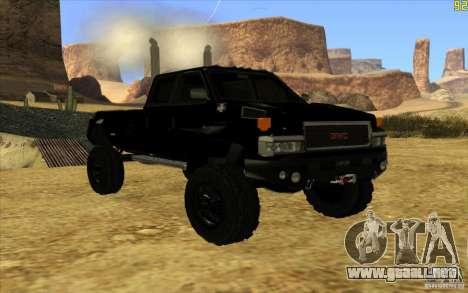 GMC Topkick Ironhide TF3 para GTA San Andreas