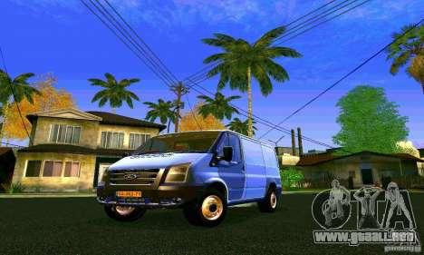 Ford Transit SWB 2011 para GTA San Andreas