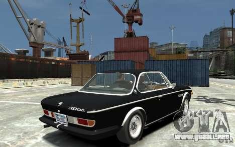 BMW 3.0 CSL E9 1971 para GTA 4 visión correcta