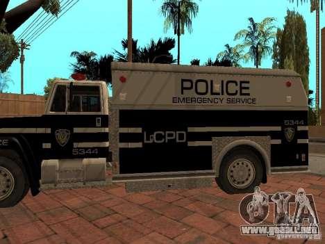 Máquina de sello HD para la visión correcta GTA San Andreas