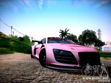 Audi R8 LMS v2.0 para GTA San Andreas left