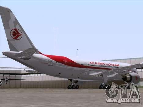 Airbus A330-203 Air Algerie para la visión correcta GTA San Andreas