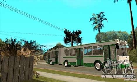 LIAZ 6212 para GTA San Andreas left