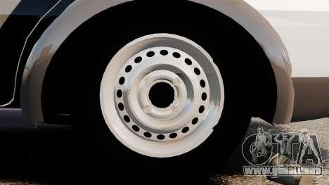 Fiat Palio Weekend Trekking 2013 PMESP ELS para GTA 4 vista hacia atrás