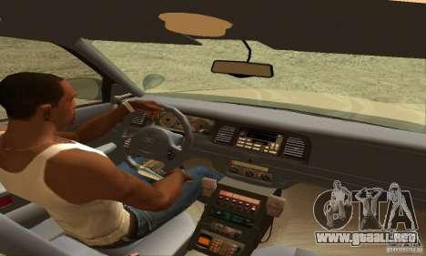 Ford Crown Victoria New Hampshire Police para GTA San Andreas vista posterior izquierda