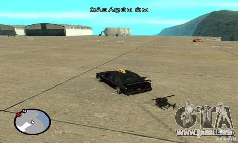 Vehículos RC para GTA San Andreas décimo de pantalla