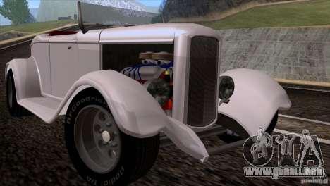 Ford Roadster 1932 para GTA San Andreas left