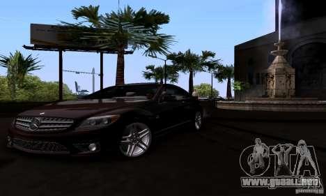 Mercedes-Benz CL65 AMG E.U. para la visión correcta GTA San Andreas