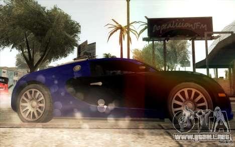 Lensflare para GTA San Andreas quinta pantalla