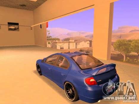 Dodge Neon SRT4 2006 para GTA San Andreas left
