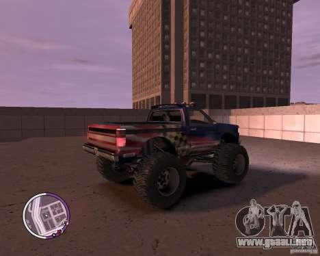Monster from San Andreas para GTA 4 visión correcta