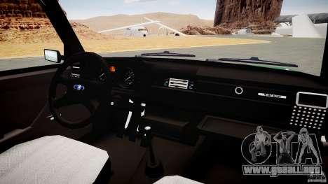 VAZ 2104 Final (teñido) para GTA 4 vista hacia atrás