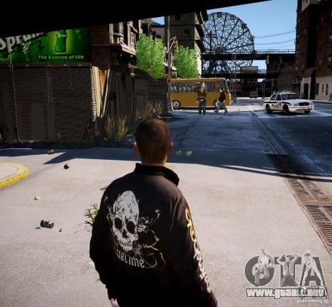 Bad Niko para GTA 4 segundos de pantalla