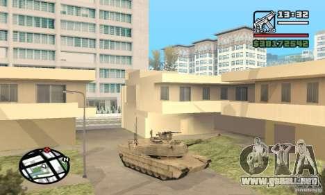 M1A2 Abrams TUSK para GTA San Andreas left
