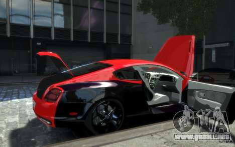 Bentley Continental SS MansorY para GTA 4 ruedas