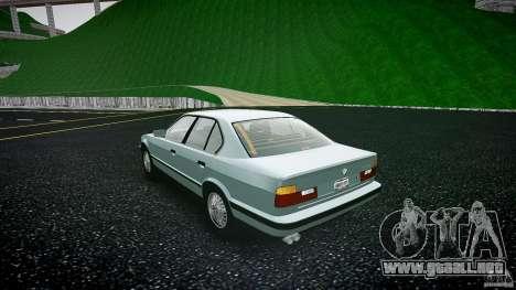 BMW 535i E34 para GTA 4 Vista posterior izquierda