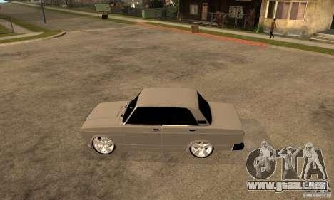 Lada VAZ 2107 LT para GTA San Andreas left