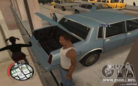 Hide Victim para GTA San Andreas tercera pantalla
