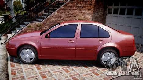 Volkswagen Bora para GTA 4 left