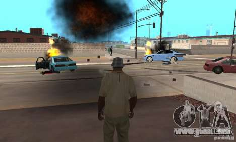 Hot adrenaline effects v1.0 para GTA San Andreas sexta pantalla