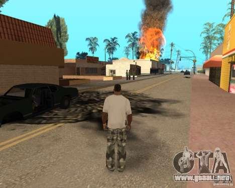 Tornado para GTA San Andreas octavo de pantalla