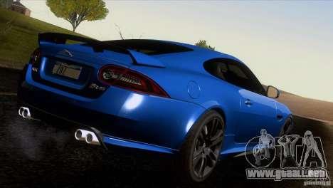 Jaguar XKR-S 2011 V1.0 para GTA San Andreas interior
