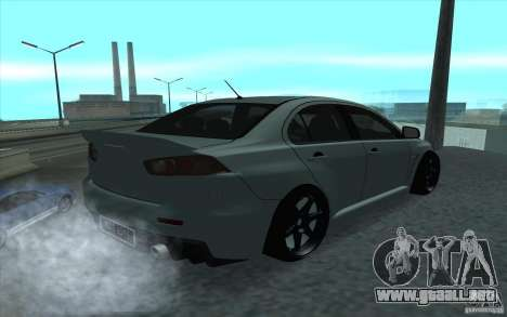 Proton Inspira Stance para GTA San Andreas vista posterior izquierda