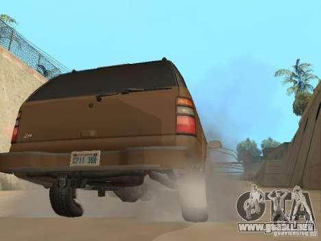 Chevrolet Suburban 2003 para la visión correcta GTA San Andreas